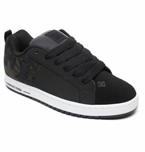 Scarpe-Uomo-Skate-DC-Shoes-Court-Graffik-SE-Black-Camo-2019-Schuhe-Chaussures
