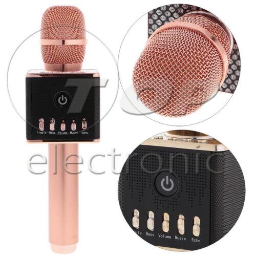 H8 Wireless Bluetooth Stereo Karaoke Microphone LED Home KTV