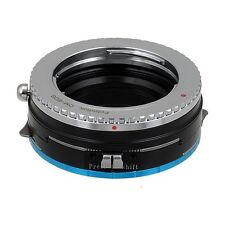 Fotodiox objetivamente-Shift-adaptador pro Olympus om 35mm lente para Fujifilm x cámara