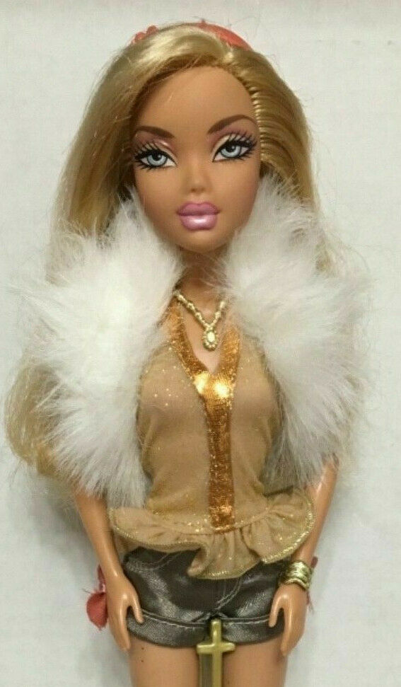 Barbie My Scene Foto Fabulous Kennedy Doll Jointed Articulated Arms Rare