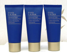 Estee Lauder Advanced Night Micro Cleansing Foam 3 x 30ml Travel size unsealed
