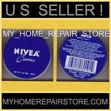 FREE S&H! US SELLER! NIVEA CREME SKIN MOISTURIZER TIN PURSE TRAVEL SIZE 1 OZ