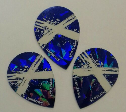 5 sets Harrows scottish pear strong flights LIMITED EDITION