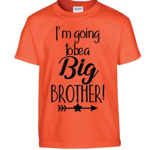 Promosso fratello maggiore T-Shirt Kids Girls voglio essere Top T-shirt annuncio