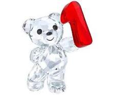 Swarovski Kris Bear Number One 1,  Clear Crystal Figurine 5063335