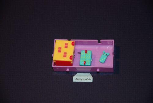 Shopkins Happy Places Season 2 Domino Box Set of Dominoes Mini Domino 59 68 80