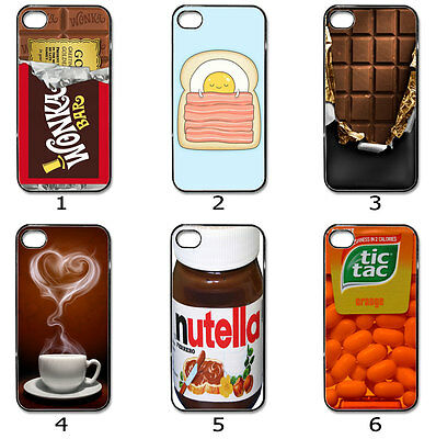 iPhone Samsung Hard CASE Phone COVER Retro Chocolate Bar Coffee Collection M12