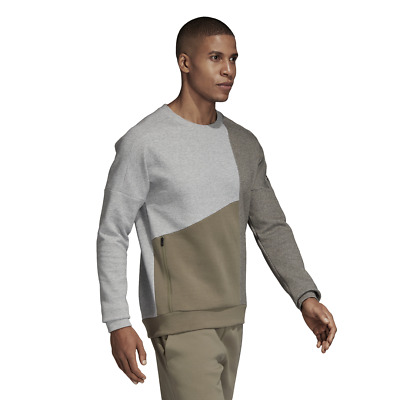 Adidas Sweatshirt Men Fashion Style Running Gym Training ID Stadium Remix CY9860   eBay