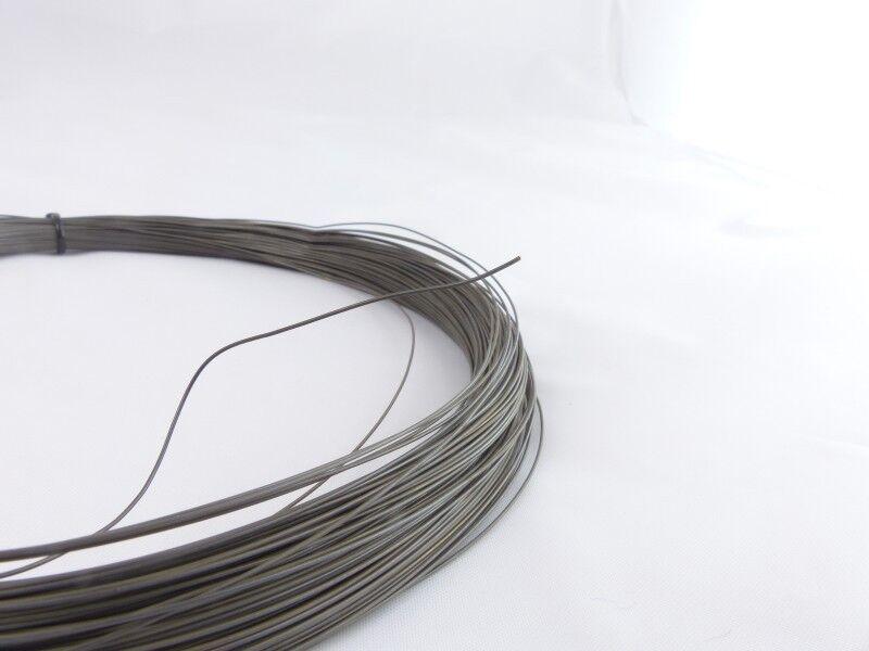 10m Nitinol Draht Trick Zaubermetall Formgedächtnis Shape Memory Alloy 0.5-1mm