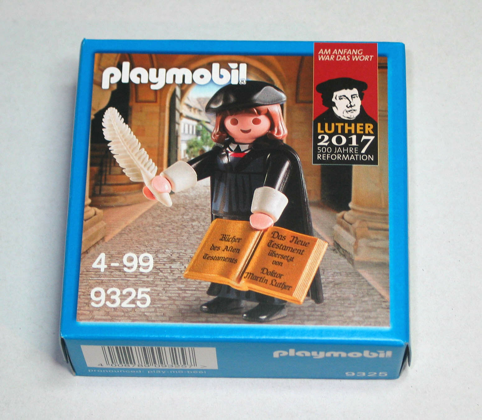 10 CT PLAYMOBIL 9325 Martin Luther specialee  Ed. 2017 500 Years Of Reformation nuovo  presa di fabbrica