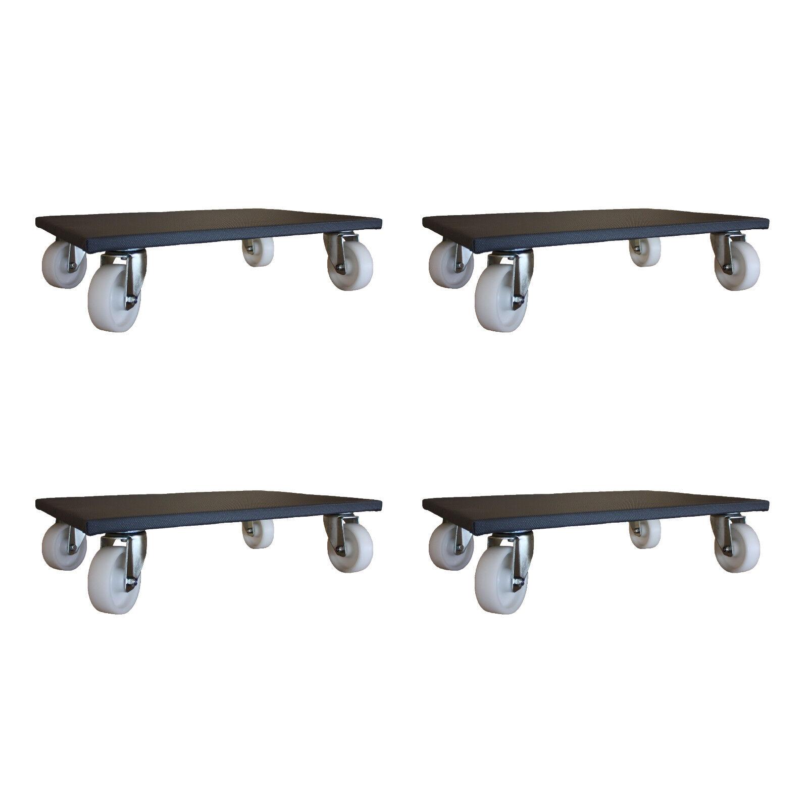 4 Pièces mobilier Roller 400x600 400x600 Roller mm Möbelhund transport Roller de 500 kg 6ed358