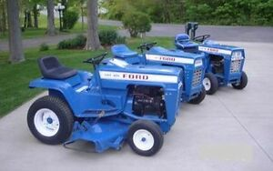 Jacobsen and Ford Garden Tractor and Implement Manuals eBay