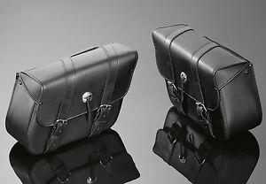 HONDA-VT1100-VT750-SHADOW-amp-SPIRIT-Real-Leather-Saddle-Bags-Panniers-02-2610