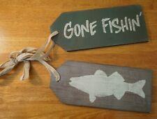 Magnetic Art Sign Redfish Car Truck Cabin Man Cave Fishing Hunting Lodge