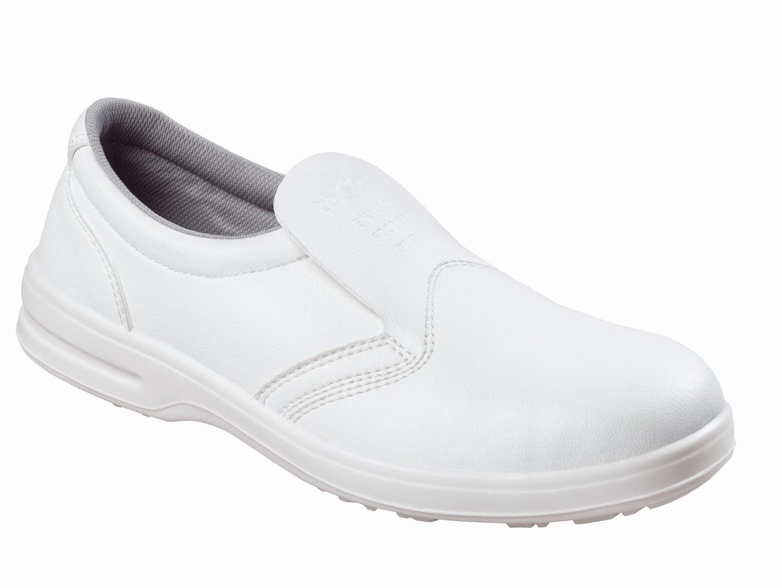 Details zu TEXXOR Arbeitsschuhe Sicherheitsschuhe (Küche,Industrie usw.)  weiß Schuh S17 61751