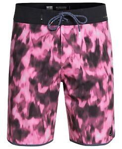 100697defec63 Quiksilver Men's Highline Recon Pink Purple Tie Dye Board Shorts ...