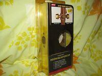 NEW Mag Security Door Reinforcer 2004-PBV Solid Brass 1.75 Building Supplies