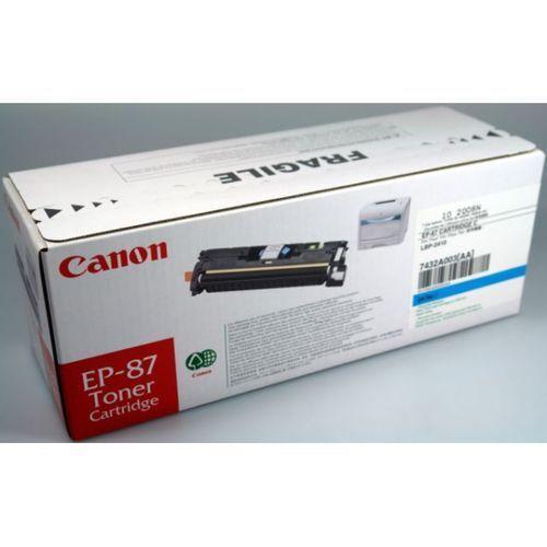 original CANON 7430A003 EP-87 TONER CARTRIDGE gelb A-Ware