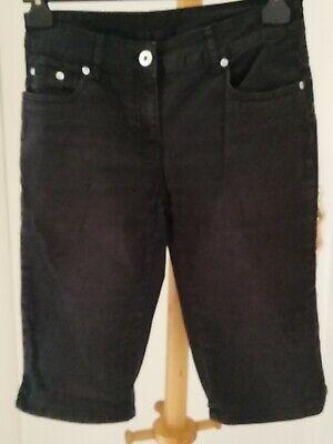Capri-jeans, Nero Mis. 164 Di C&a-mostra Il Titolo Originale Ultimi Design Diversificati
