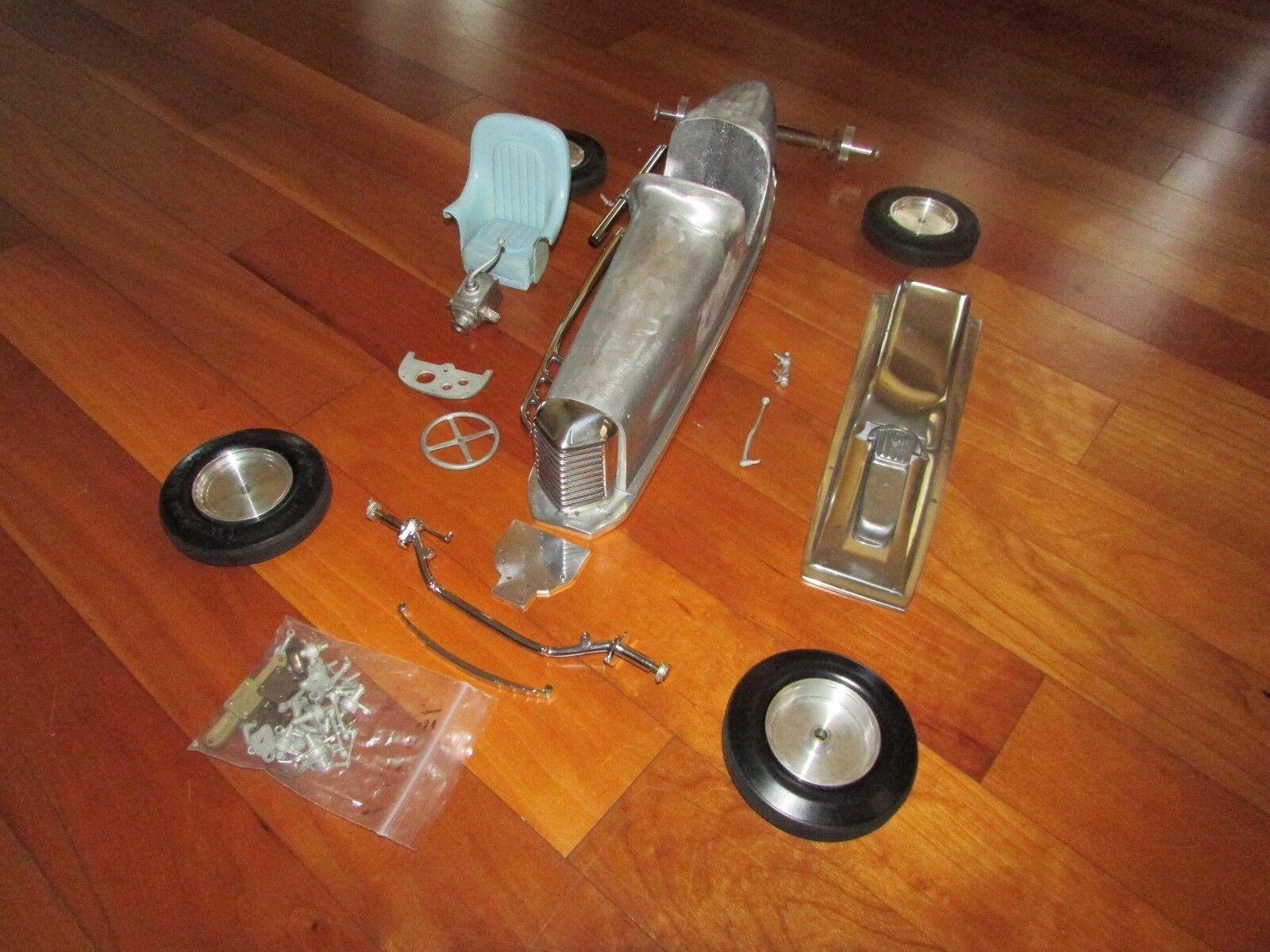 Década de 1930 Indy 500 Miller Race Coche Kit de piezas de calidad construido a medida 18  de aluminio fundido