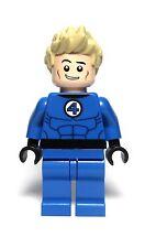Lego Marvel Video Game Custom  Johhny Storm Inspired Minifigure