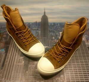 a6dae88239bd Converse Chuck Taylor All Star WP Boot Hi High Top Raw Sugar Size 13 ...
