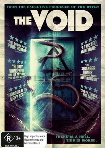 1 of 1 - THE VOID DVD, NEW & SEALED, 2017 RELEASE, REGION 4, FREE POST
