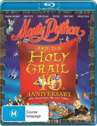 1 of 1 - Monty Python And The Holy Grail 40th Anniver (Blu-ray, 2015)Excellent Condition