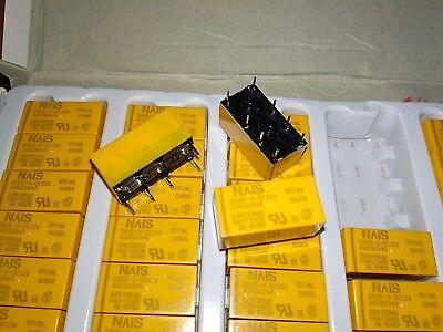 5PCS NAIS Relay DS1E-M-DC12V DS1EMDC12V New Free Shipping *TT