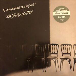 Vinyle-LP-33T-J-J-GOLDMAN-ENTRE-GRIS-CLAIR-ET-GRIS-FONCE-DOUBLE-ALBUM