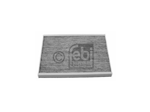 313875 Espacio interior filtro filtro de polen carbón activado Febi Opel Adam Corsa C Corsa D