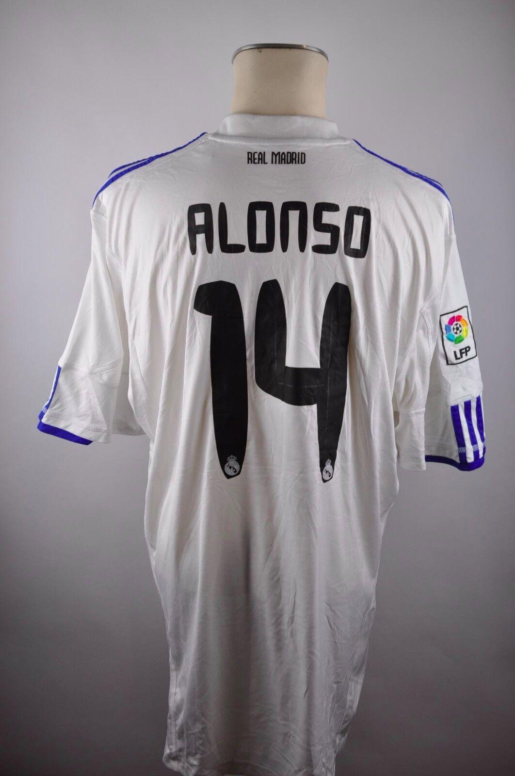 Real Madrid Trikot 2010-11 Gr. XXL Alonso Adidas Spanien bwin Shirt