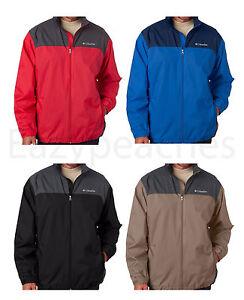 Columbia-Sportswear-Men-039-s-S-3XL-WATERPROOF-Mountaineering-Packable-Rain-Jacket
