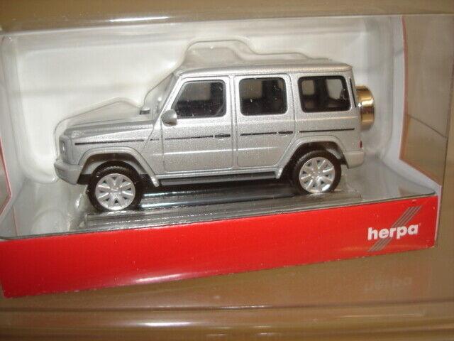 1//87 Mercedes-Benz G-Klasse Herpa 430623-002 silbermetallic