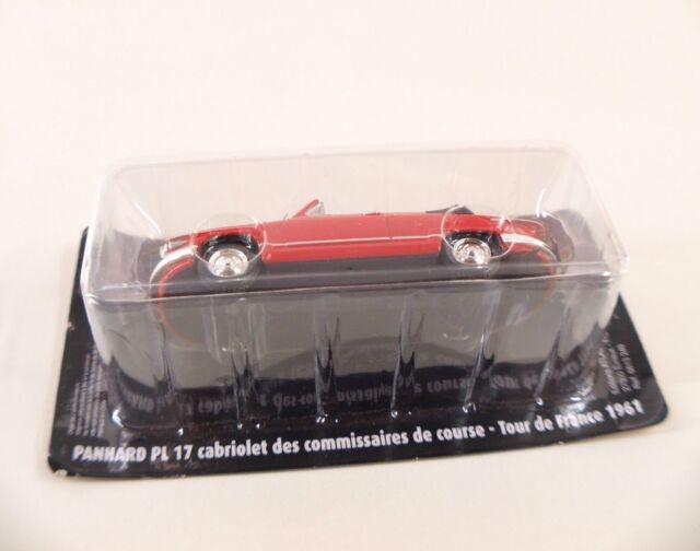 Atlas • Panhard PL 17 Cabriolet  Tour de France 61 •1/43 • Blister/jamais ouvert