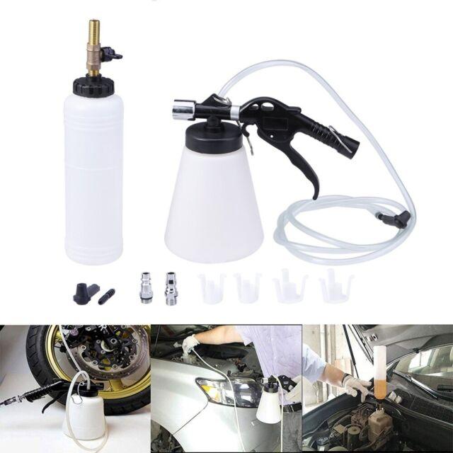 1L Air Brake Bleeder Kit Clutch Vacuum Bleeding Extractor Fluid Fill Adapter Set