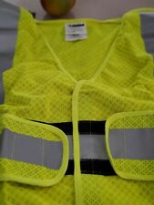 Safety Mesh Vest With Reflective Tape Inherently Flame Resistant Fabric Lxl