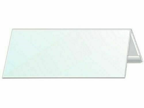 25x DURABLE Tisch Namensschild Besprechung Hochzeit Schule Büro 297 x 105 mm