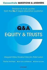 concentrate questions and answers equity and trusts law q amp a revision and study guide