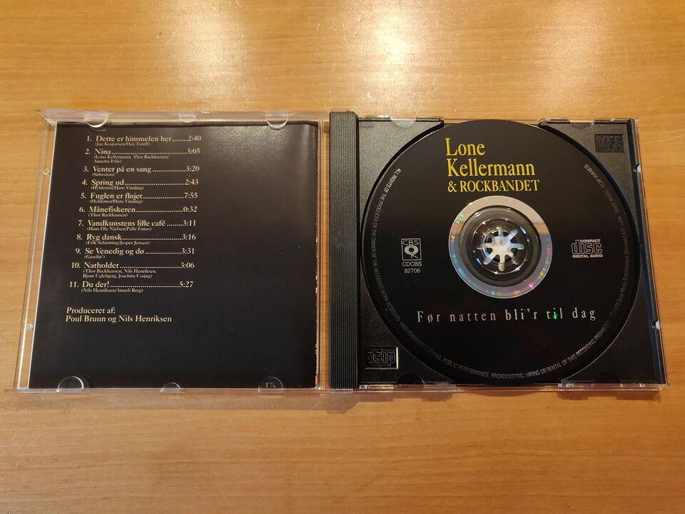 Lone Kellermann & Rockbandet: Før Natten Bliver Til Dag,