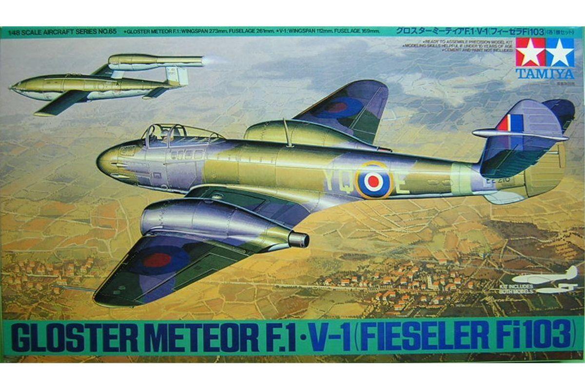TAMIYA 61065 1 48 Gloster Meteor F1 F1 F1 + V1 F103 d5b2bd
