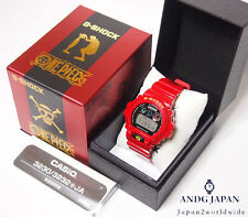 G-SHOCK One piece MONKEY D LUFFY Limited collaboration DW-6900FS JAPAN Watch