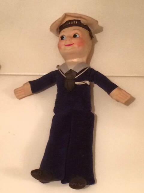 Nora Wellings Sailor doll 1930's