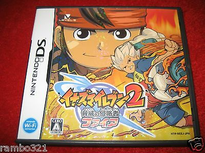 Inazuma 11: TWO 2 Inazuma Eleven is a Japanese Soccer Football Nintendo DS