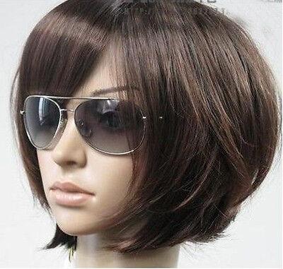 New Short Dark Brown Fashion Wig