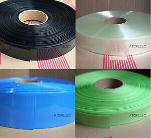 (26650 Battery) 43MM Φ27MM PVC Heat Shrink Tubing Wrap