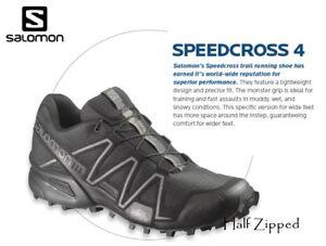 salomon speedcross 4 wide fit womens leather