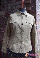 Military Style Bluse 50er Rockabella XS