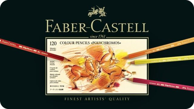 Faber-Castell POLYCHROMOS 120 COLOURS 110011 Coloured pencils