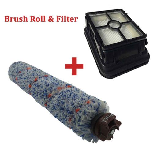 HEPA Filter /& Brush Roll Set For Bissell CrossWave 1785 Vacuum 17858 17859 17852